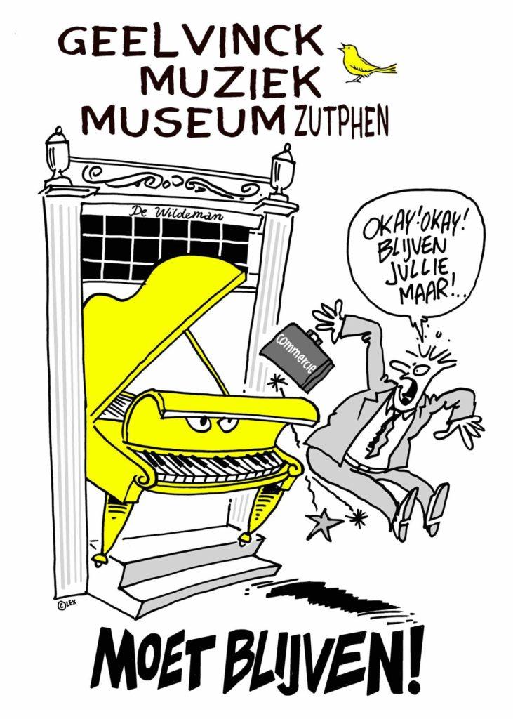 Muziek Museum Zutphen moet blijven - Lex Dirkse